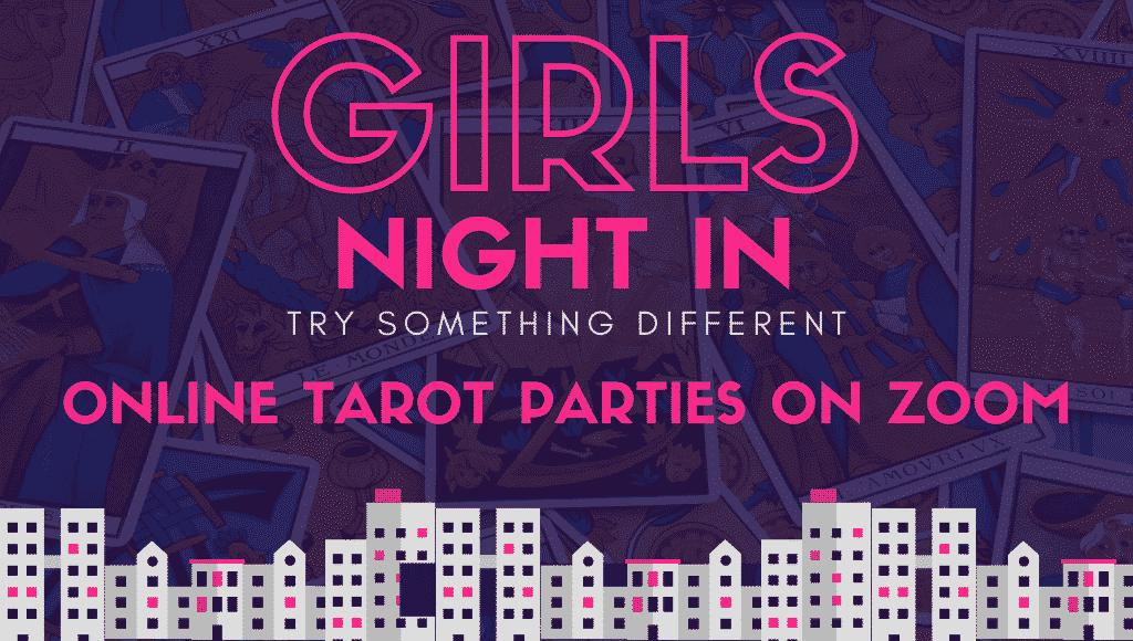 tarot parties online